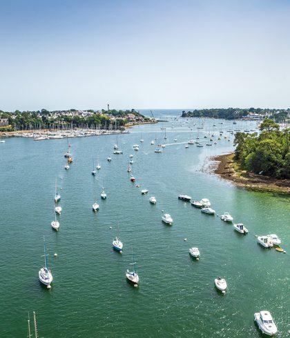 La Riviera Bretonne filmée par un drone