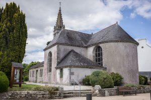 L'église de Gouesnach