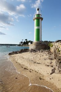 Le phare du Coq à Bénodet