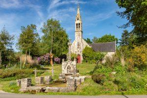 La chapelle du Drennec à Clohars-Fouesnant