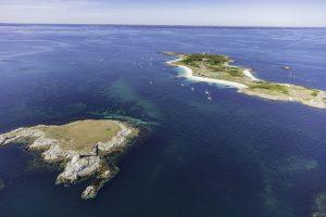 Les îles Guéotec et Penfret