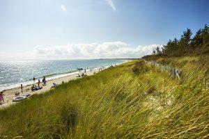 La plage de Kerler Mousterlin