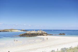 Plage de l'île Saint-Nicolas dans l'Archipel des Glénan