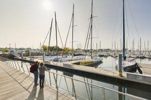 Le port de plaisance de Port La Forêt