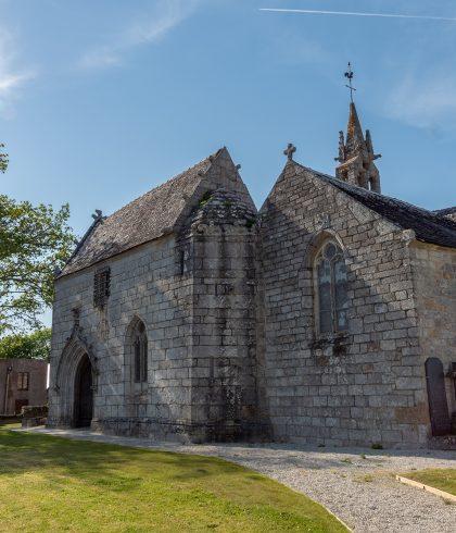 L'église Saint-Hilaire à Clohars-Fouesnant