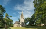 France, Finistere (29), Fouesnant, la chapelle Sainte-Anne