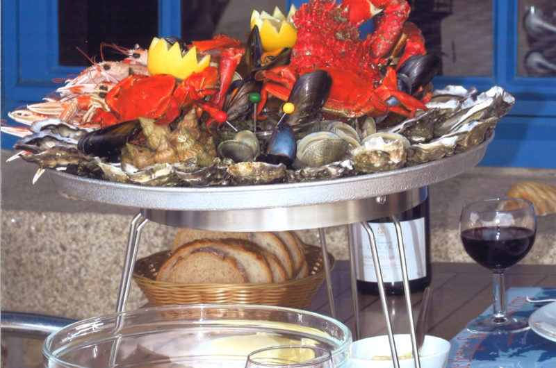 Plateau de fruits de mer – Café du Port