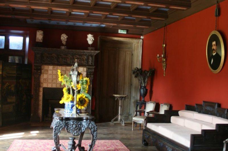 Chateau de Kériolet salle à manger