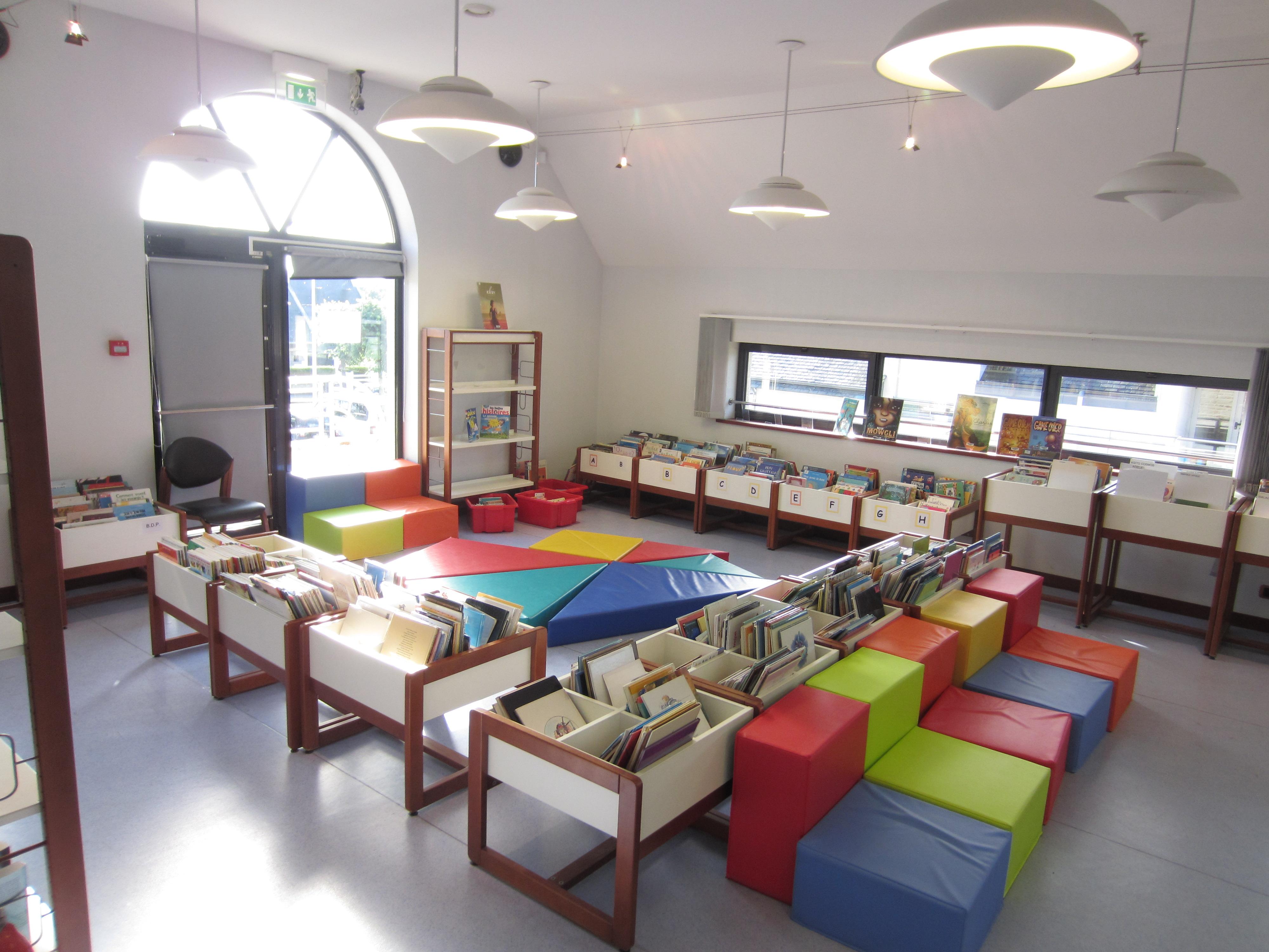 Bibliothèque Bénodet 1