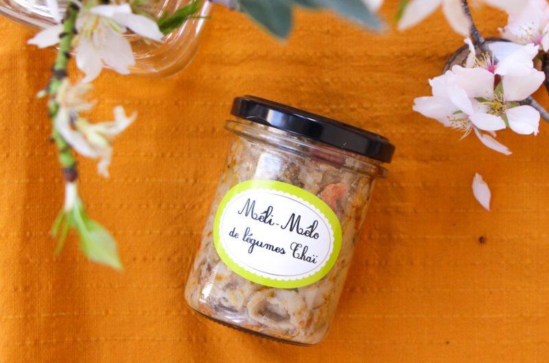 Méli-Mélo de légumes Thaï